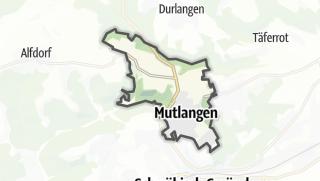 地图 / Mutlangen