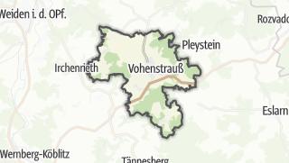 Cartina / Vohenstrauß