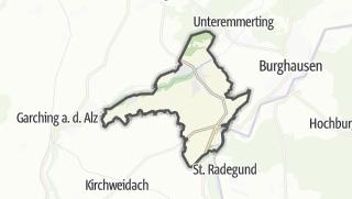 Cartina / Burgkirchen an der Alz