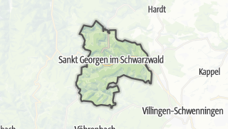 地图 / Sankt Georgen im Schwarzwald