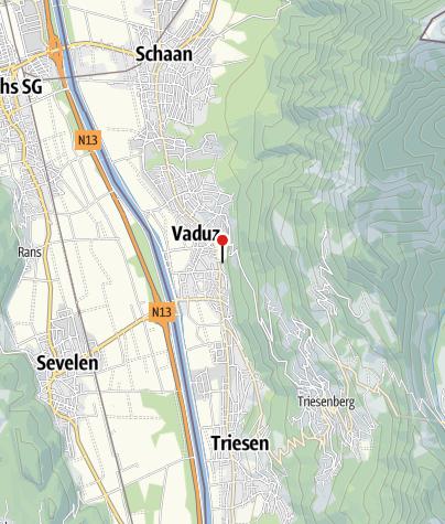 Karte / Liechtensteinisches Landesmuseum