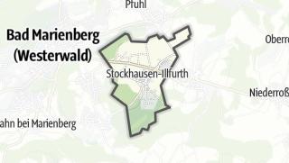 Mapa / Stockhausen-Illfurth