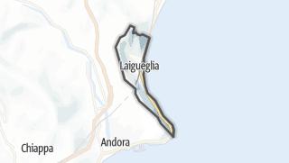 Map / Laigueglia