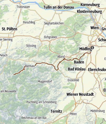 Karte / Mariazell - Tag 2 Protokoll