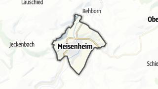 Map / Meisenheim