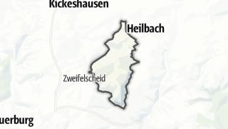 Karte / Ammeldingen bei Neuerburg
