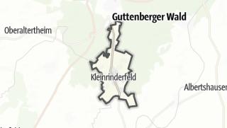 Mapa / Kleinrinderfeld