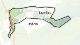 Mapa / Badenhard