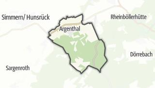 Mapa / Argenthal