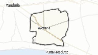 Térkép / Avetrana