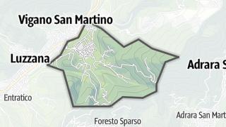 Hartă / Berzo San Fermo