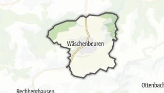 Karte / Wäschenbeuren
