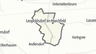 Cartina / Leopold im Marchfelde