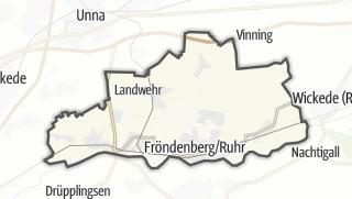 מפה / Fröndenberg/Ruhr