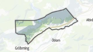 Mapa / Sankt Martin am Grimming