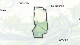 Mapa / Châtillon (JU)