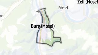 Mapa / Burg (Mosel)