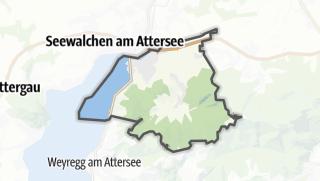 Mapa / Schörfling am Attersee