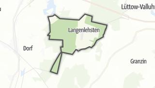 地图 / Langenlehsten