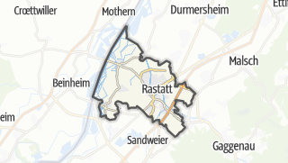 Karte / Rastatt
