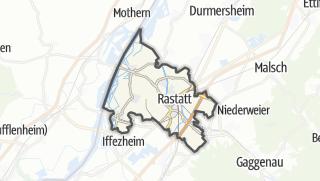 Mapa / Rastatt