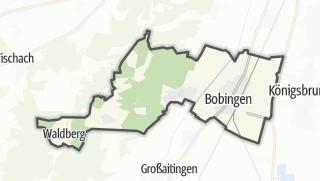 Mapa / Bobingen