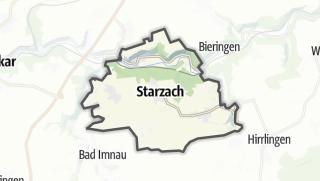 Mapa / Starzach