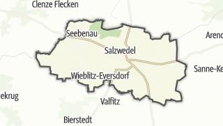 地图 / Hansestadt Salzwedel