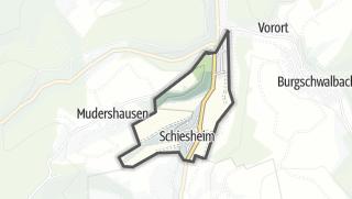 Cartina / Schiesheim