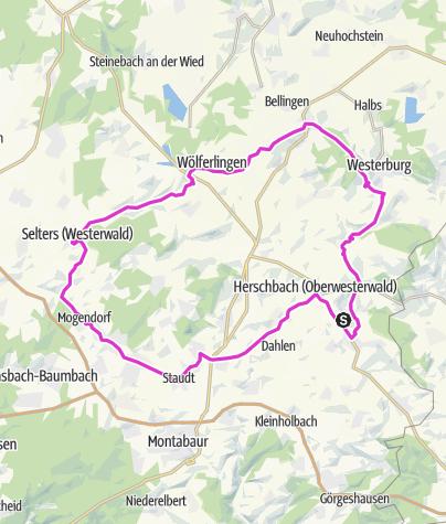 Karte / Wallmerod - Selters - Langenhahn - Wallmerod