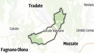 Hartă / Locate Varesino
