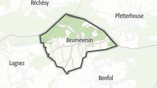 מפה / Beurnevésin