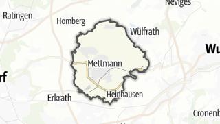 Mapa / Mettmann