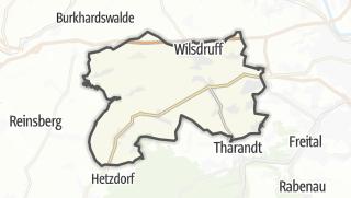 Cartina / Wilsdruff