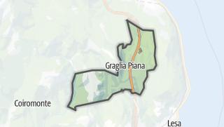מפה / Brovello-Carpugnino