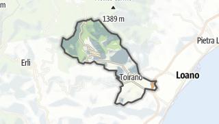 Map / Toirano