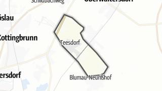 Mapa / Teesdorf
