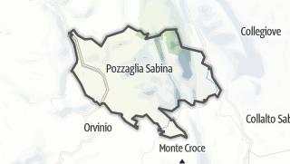 Mapa / Pozzaglia Sabina