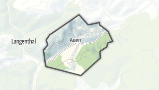 Karte / Auen