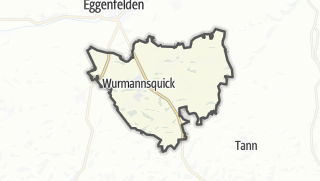 Mapa / Wurmannsquick