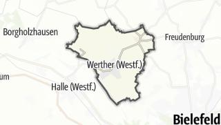 מפה / Werther (Westfalen)