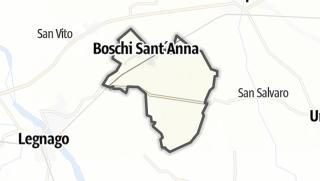 Kartta / Boschi Sant'Anna