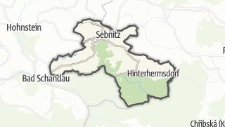 מפה / Sebnitz