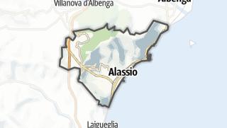 Map / Alassio