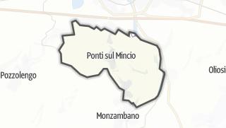 地图 / Ponti sul Mincio
