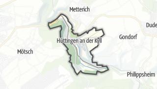 Karte / Hüttingen an der Kyll