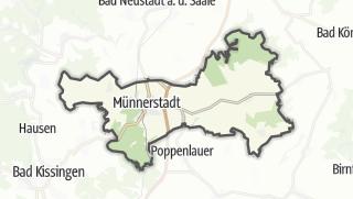 Carte / Münnerstadt