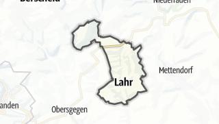 Karte / Lahr