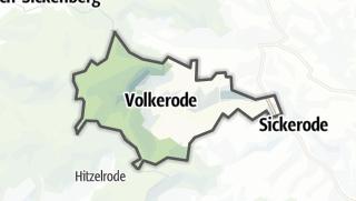 Map / Volkerode