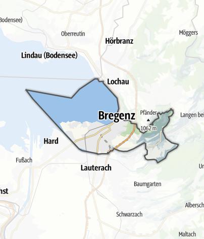 Karte / Bregenz